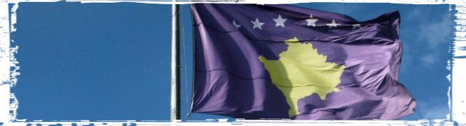 vlag kosovo banner