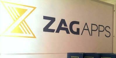 ZAG apps promotiemateriaal