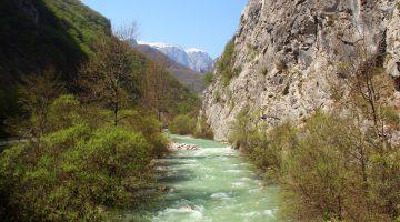 rugova vallei in kosovo